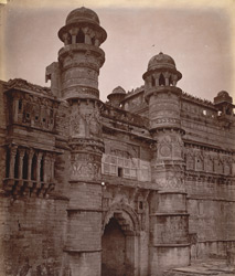 Hathio Paur Gateway to the Man Mandir Palace, Gwalior